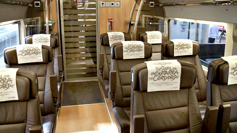 AVE Premium (preferente)1st Class (Turista plus) (img 2)