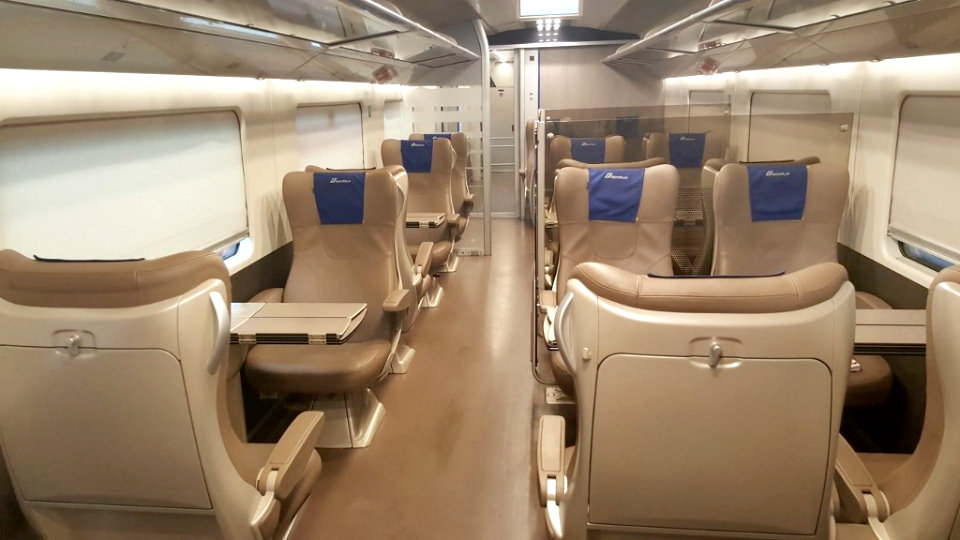 Frecciarossa Train Business Class