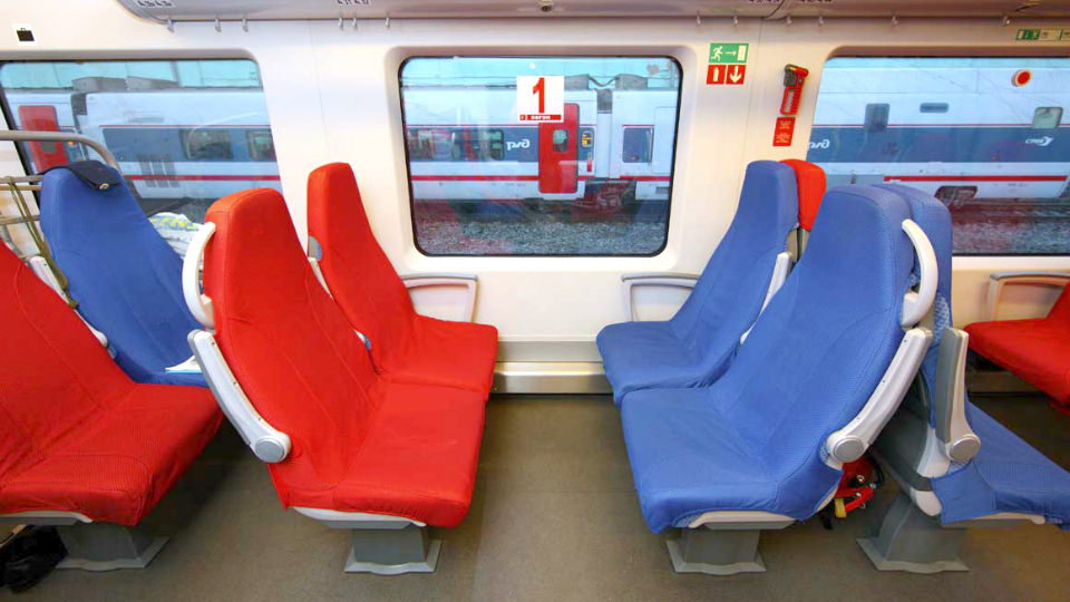 Desiro train car