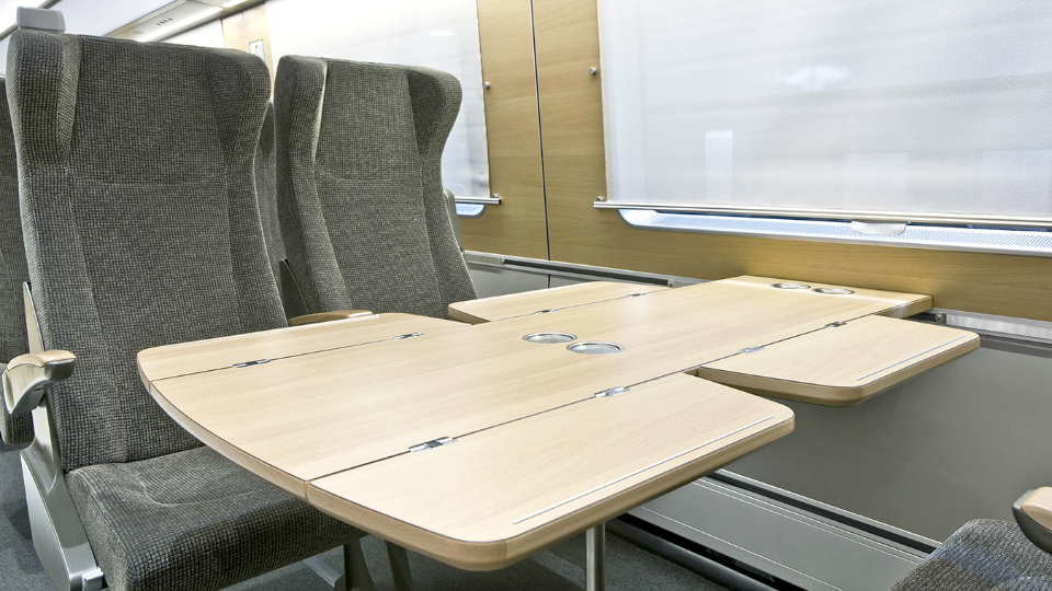 SJ Train 2nd Class