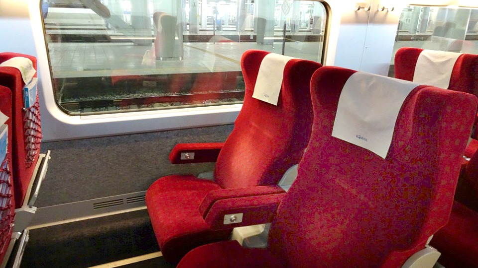 Korean High Speed Train KTX First Class (img 2)