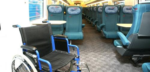 Economy class car special care area