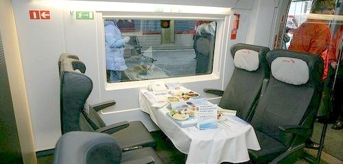 Restaurant Car Sapsan