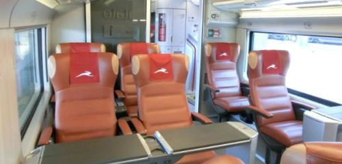 Italo Train Club Executive Class