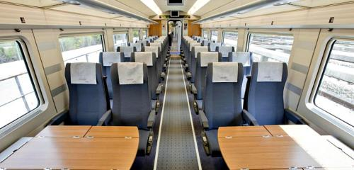 2nd Class Seat Renfe