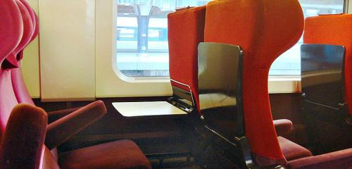 2nd Class Seat	(Thalys)